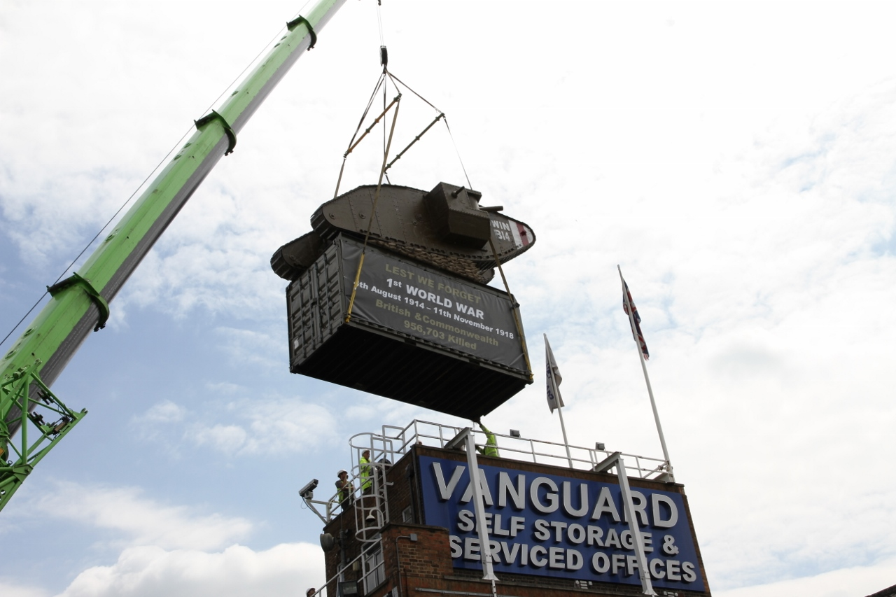 Vanguard Mark IV Tank